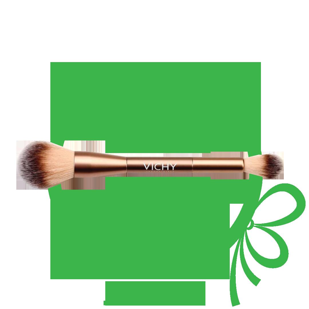 Badge for Δώρο Vichy επαγγελματικό πινέλο μακιγιάζ με αγορά make-up Vichy