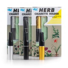 HERB CIGARETTE HOLDER & 12 SPARE FILTERS …