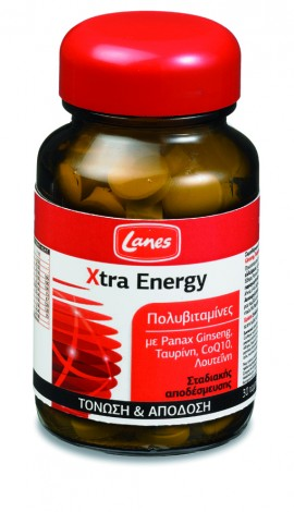 LANES EXTRA ENERGY 30tabs