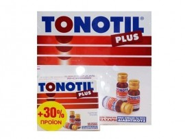 TONOTIL PLUS AMPOULES 10X10ml + ΔΩΡΟ 30% …