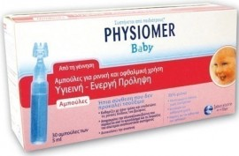 PHYSIOMER BABY ΜΟΝΟΔΟΣΕΙΣ 5mlx30τεμ.