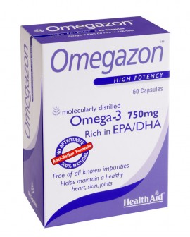 HEALTH AID OMEGAZON BLISTER 750mg 60caps