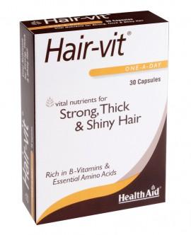 HEALTH AID HAIR VIT 30caps