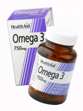 HEALTH AID OMEGA 3 750mg 30caps