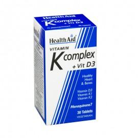 HEALTH AID VITAMIN K COMPLEX & VITAMIN D …