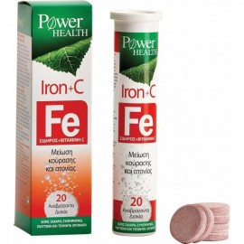 POWER HEALTH IRON + VITAMIN C 20 αναβράζ …