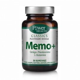 POWER HEALTH PLATINUM MEMO+ 30caps
