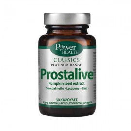 POWER HEALTH PLATINUM PROSTALIVE 30caps