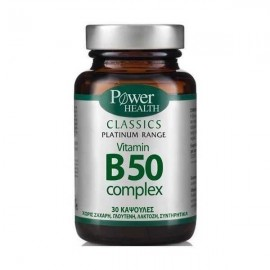 POWER HEALTH PLATINUM VITAMIN B50 30caps