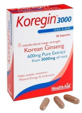 HEALTH AID KOREGIN 600mg 30caps BLISTER