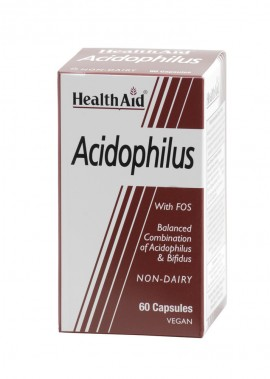 HEALTH AID BALANCED ACIDOPHILUS 60caps