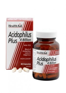 HEALTH AID ACIDOPHILUS PLUS 4 BILLION 60 …