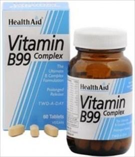HEALTH AID B99 COMPLEX PROLONGED 60tabs