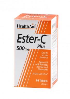 HEALTH AID ESTER C 500mg 60tabs