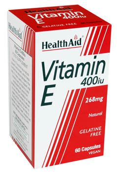 HEALTH AID VITAMIN E 400i.u. 30caps