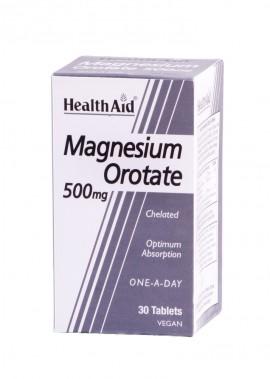 HEALTH AID MAGNESIUM OROTATE 500mg 30tab …
