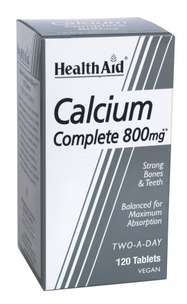 HEALTH AID CALCIUM COMPLETE 800mg 120tab …