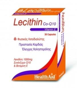 HEALTH AID LECITHIN 1000mg & VIT E & Q10 …