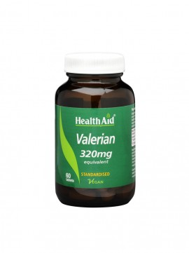 HEALTH AID VALERIAN ROOT EXTRACT 60tabs