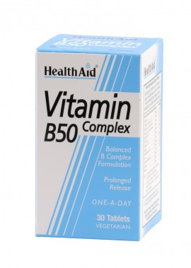 HEALTH AID B50 COMPLEX PROLONGED 30tabs
