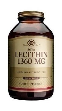 SOLGAR LECITHIN 1360mg 250softgels