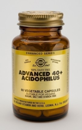 SOLGAR ADVANCED 40+ ACIDOPHILUS 60vcaps