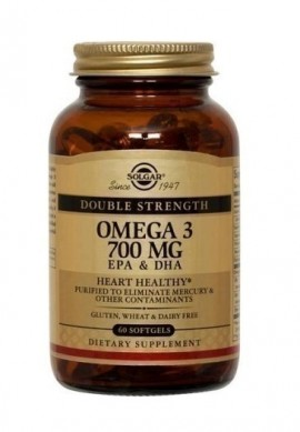 SOLGAR OMEGA-3 DOUBLE STRENGTH 60softgel …