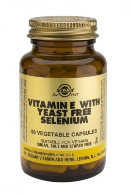 SOLGAR VITAMIN E with YEAST FREE SELENIU …
