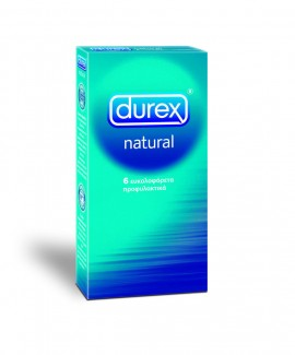 DUREX NATURAL 6τεμ.