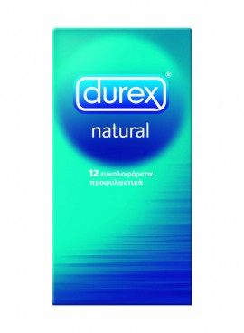 DUREX NATURAL 12τεμ.