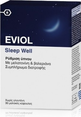 EVIOL SLEEP WELL 30caps