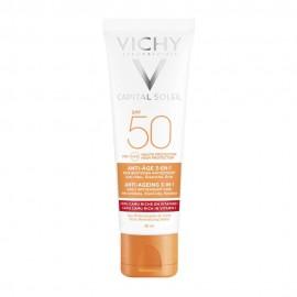VICHY CAPITAL SOLEIL ANTI-AGEING SPF50+ …