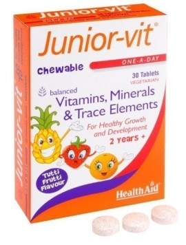 HEALTH AID JUNIOR VITAMINS 30tabs BLISTE …
