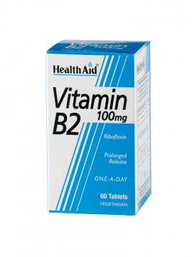 HEALTH AID VITAMIN B2 100mg 60tabs