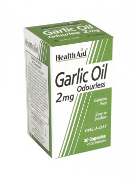 HEALTH AID GARLIC OIL VEGETER. 2mg 30cap …