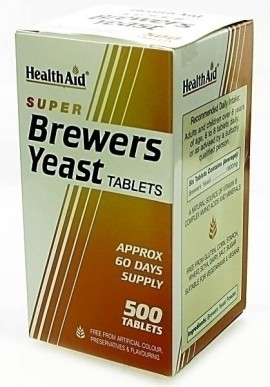 HEALTH AID SUPER BREW.YEAST 500tabs