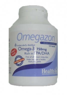 HEALTH AID OMEGAZON 750mg 120 caps