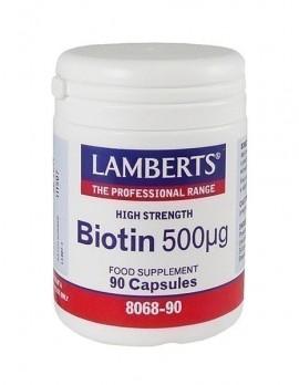 LAMBERTS BIOTIN 500μg 90caps