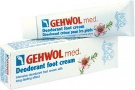 GEHWOL MED DEODORANT FOOT CREAM 75ml