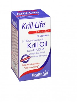 HEALTH AID KRILL LIFE OIL 500mg 60caps