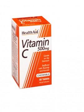 HEALTH AID VITAMIN C CHEWABLE ORANGE 500 …