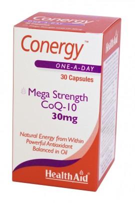 HEALTH AID CONERGY CO Q10 30mg 30caps