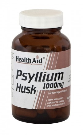 HEALTH AID PSYLLIUM HUSK 1000mg 60caps