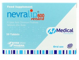 MEDICAL NEVRALIP 600 retard 20δισκία