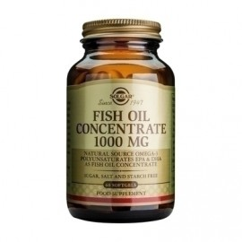 SOLGAR FISH OIL CONCENTRATE 1000mg 60s