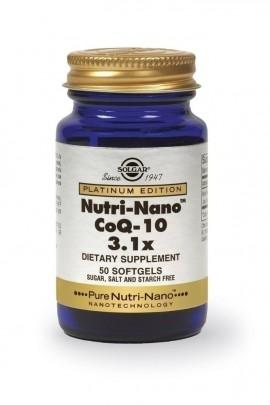 SOLGAR NUTRI NANO CO Q-10 3.1X 50softgel …