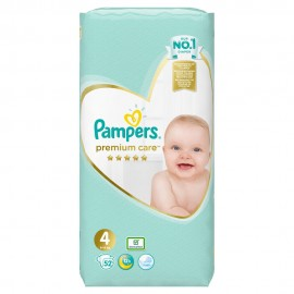 PAMPERS PREMIUM CARE JUMBO No4 (8-14kg) …