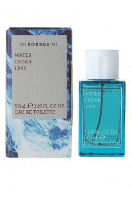 KORRES EAU DE TOILETTE MEN WATER CEDAR L …