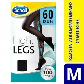 SCHOLL LIGHT LEGS 60 DEN BLACK M 1ζεύγος