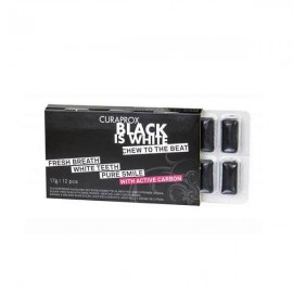 CURAPROX BLACK IS WHITE CHEWING GUM ΛΕΥΚ …